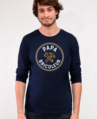 T-Shirt homme manches longues Papa bricoleur