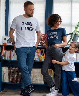 T-Shirt homme Demande à ta mère