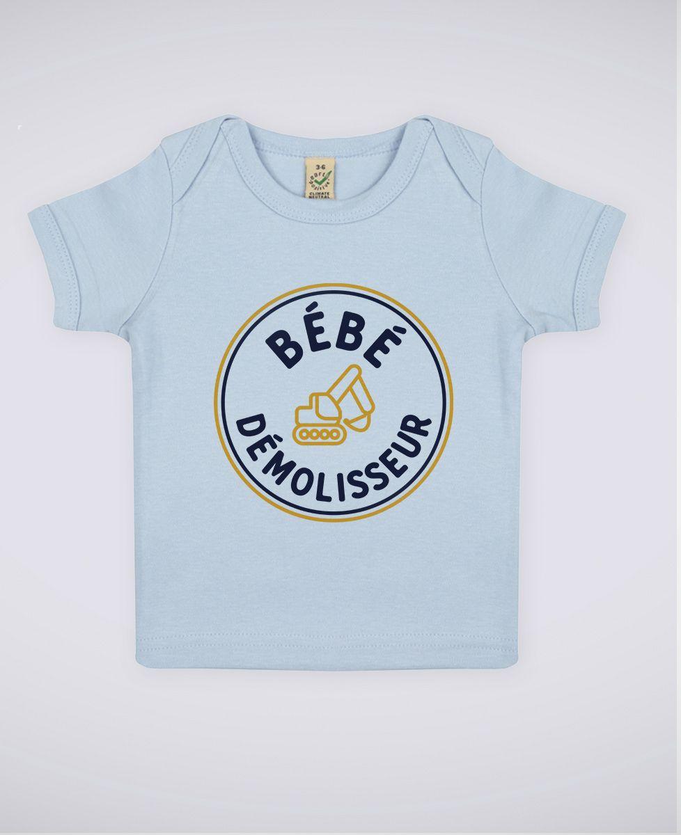 T-Shirt bébé Bébé démolisseur