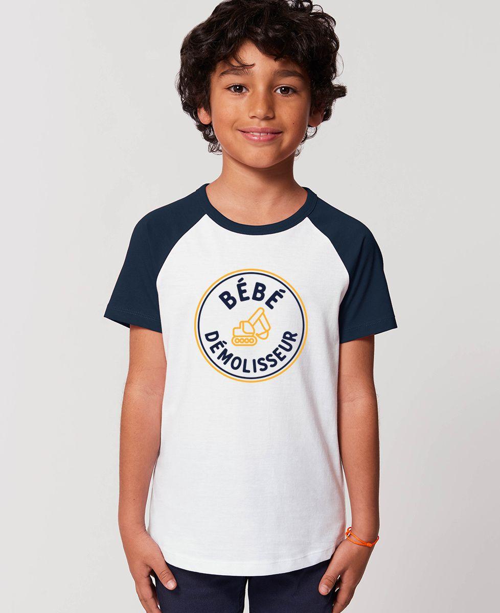T-Shirt enfant Bébé démolisseur