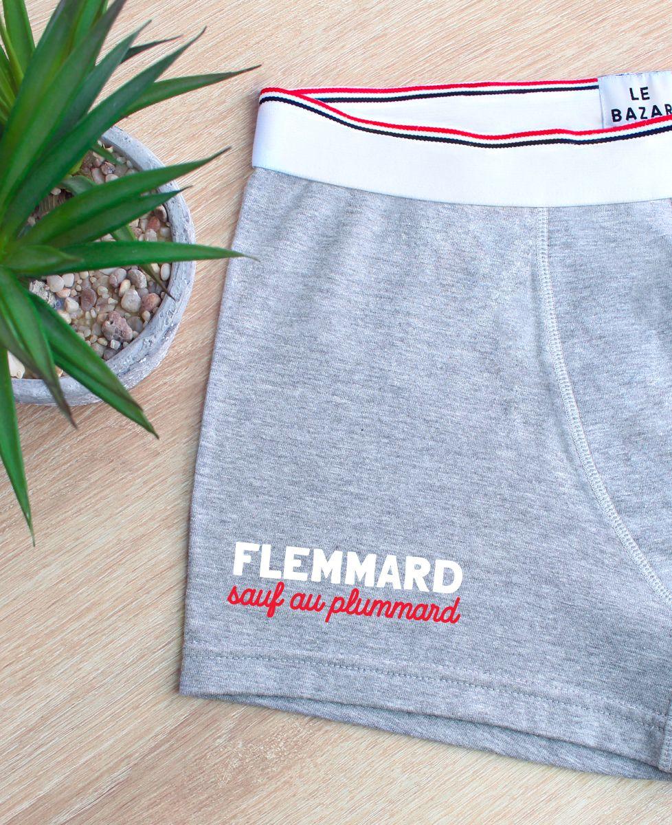 Boxer Flemmard sauf au plummard