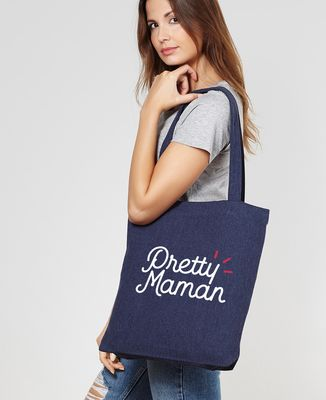 Tote bag Pretty Maman
