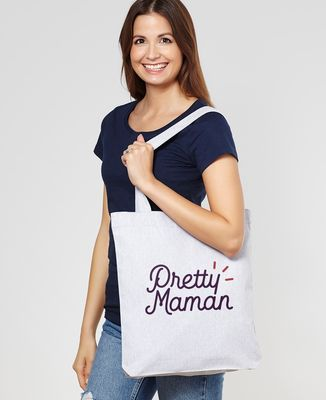 Tote bag Pretty Maman