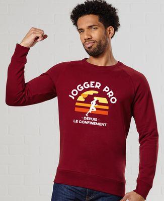 Sweatshirt homme Jogger pro
