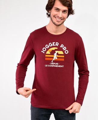 T-Shirt homme manches longues Jogger pro