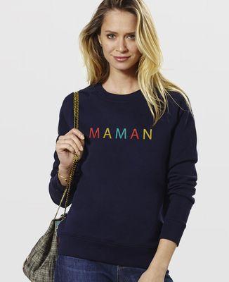 Sweatshirt femme Maman (brodé)