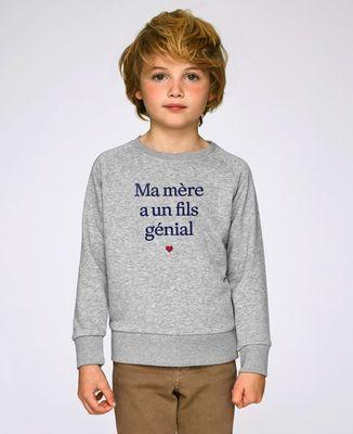 Sweatshirt enfant Ma mère a un fils génial
