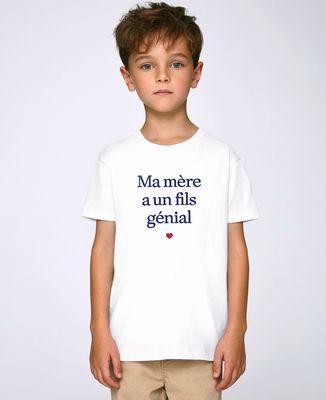 T-Shirt enfant Ma mère a un fils génial