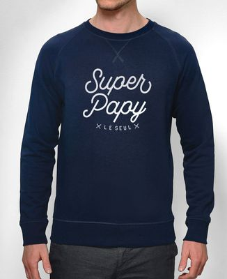 Sweatshirt homme Super Papy