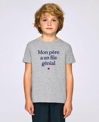 T-Shirt enfant Mon père a un fils génial
