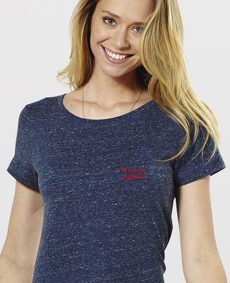 T-Shirt femme Maman parfaite (brodé)