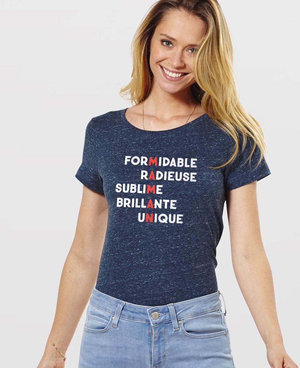 T-Shirt femme Maman formidable