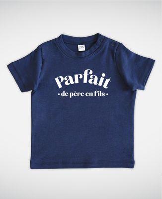 T-Shirt bébé Parfait de père en fils
