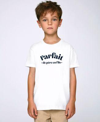 T-Shirt enfant Parfait de père en fils