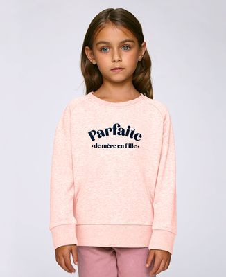 Sweatshirt enfant Parfaite de mère en fille