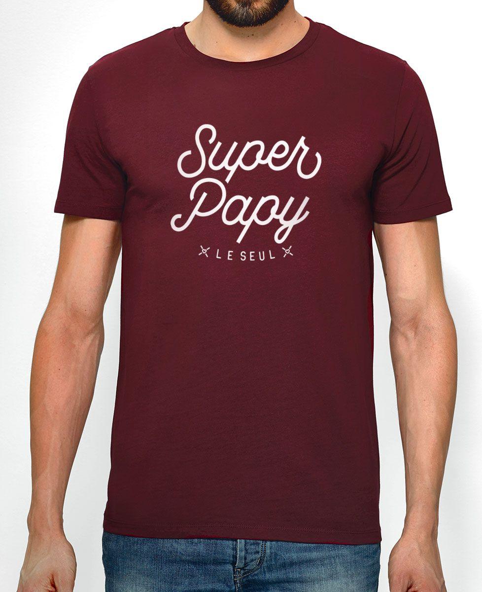 T-Shirt homme Super Papy