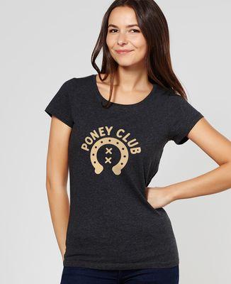 T-Shirt femme Poney Club