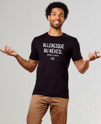 T-Shirt homme Allergique au réveil