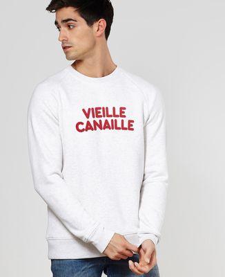Sweatshirt homme Vieille canaille (effet velours)