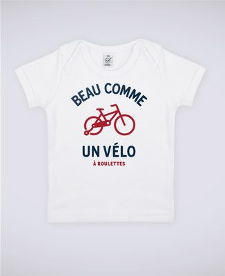 T-Shirt bébé Beau comme un vélo II