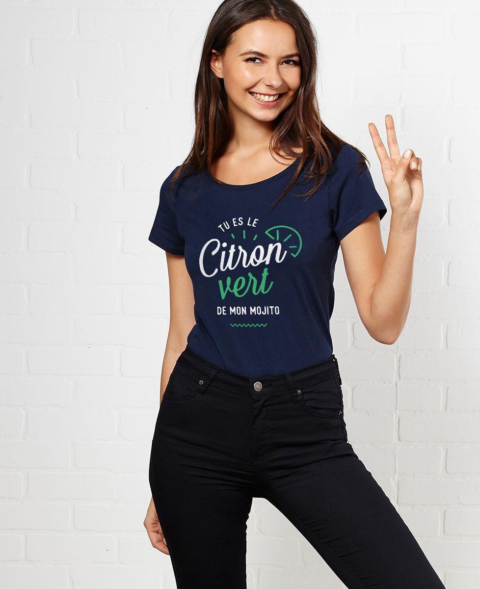 T-Shirt femme Citron vert