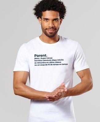 T-Shirt homme Parent définition