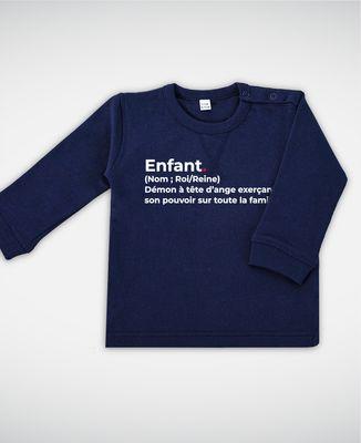 Sweatshirt bébé Enfant définition