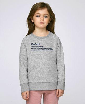 Sweatshirt enfant Enfant définition