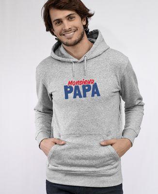 Hoodie homme Monsieur Papa
