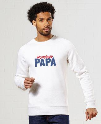 Sweatshirt homme Monsieur Papa