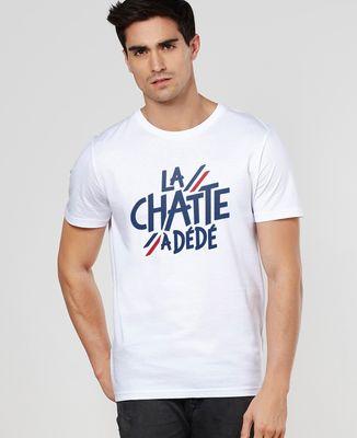 T-Shirt homme La chatte à Dédé