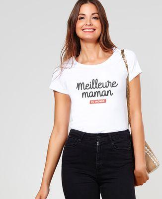 T-Shirt femme Meilleure maman du monde II