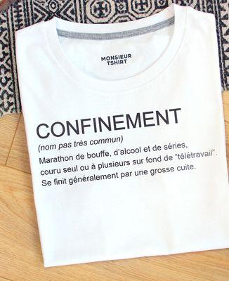 T-Shirt homme Confinement définition