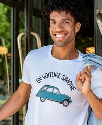 T-Shirt homme En voiture Simone