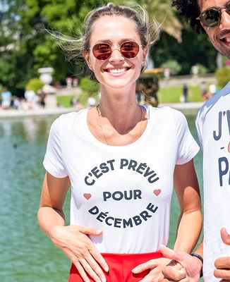 T-Shirt femme C'est prévu pour Personnalisé