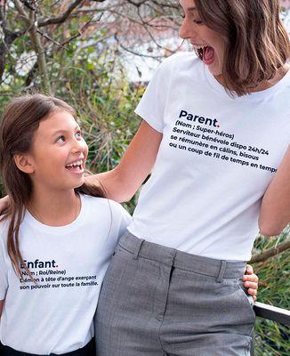 T-Shirt femme Parent définition