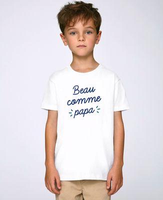 T-Shirt enfant Beau comme papa