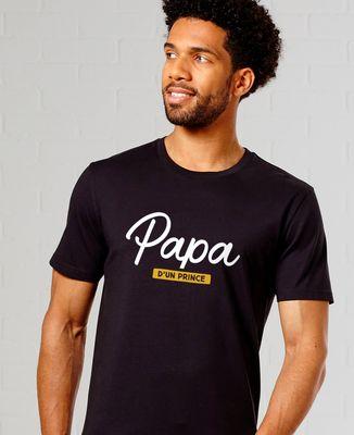 T-Shirt homme Papa d'un prince