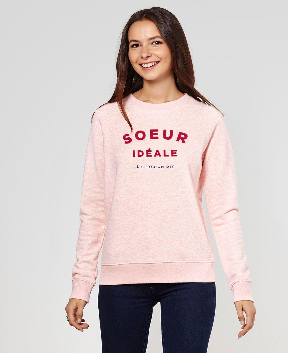 Sweatshirt femme Soeur idéale