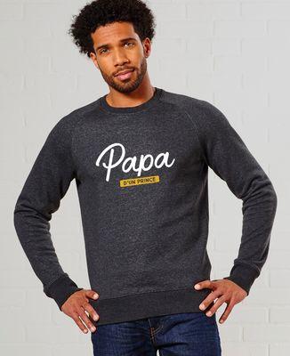 Sweatshirt homme Papa d'un prince
