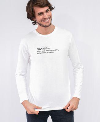T-Shirt homme manches longues Couvade définition