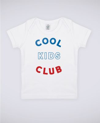 T-Shirt bébé Club Kids Cool