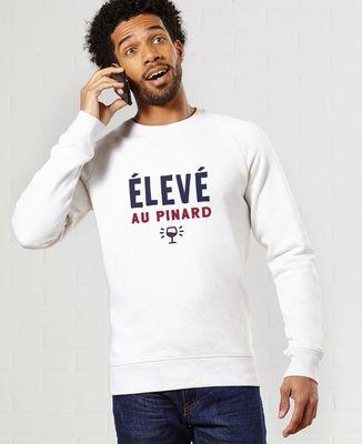 Sweatshirt homme Élevé au pinard