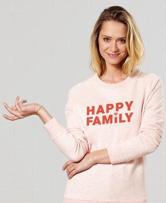 Sweatshirt femme Happy Family