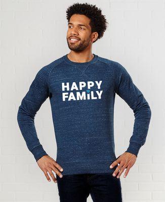 Sweatshirt homme Happy Family