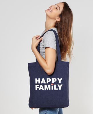 Tote bag Happy Family