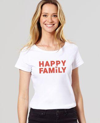 T-Shirt femme Happy Family