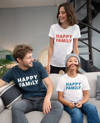 T-Shirt homme Happy Family
