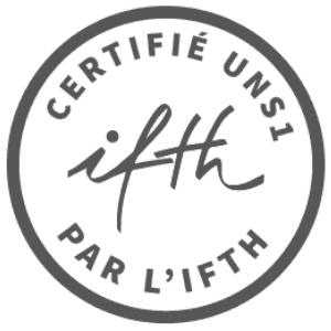 Certification - Certifié UNS1 par l'IFTH