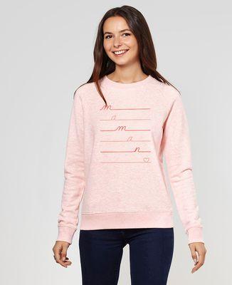Sweatshirt femme Maman Love
